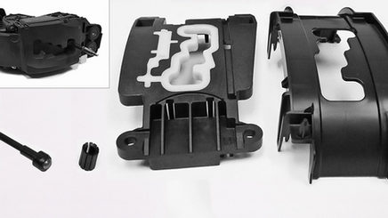 Plastic Injection Molding with Dual Color Mold