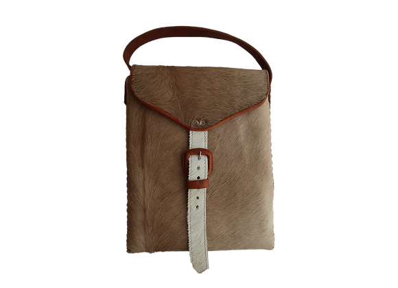 Blond Messenger Bag