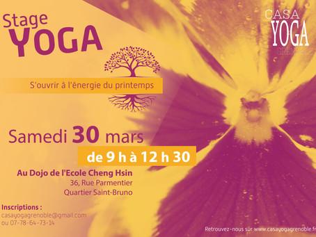 Stage de printemps - samedi 30 mars