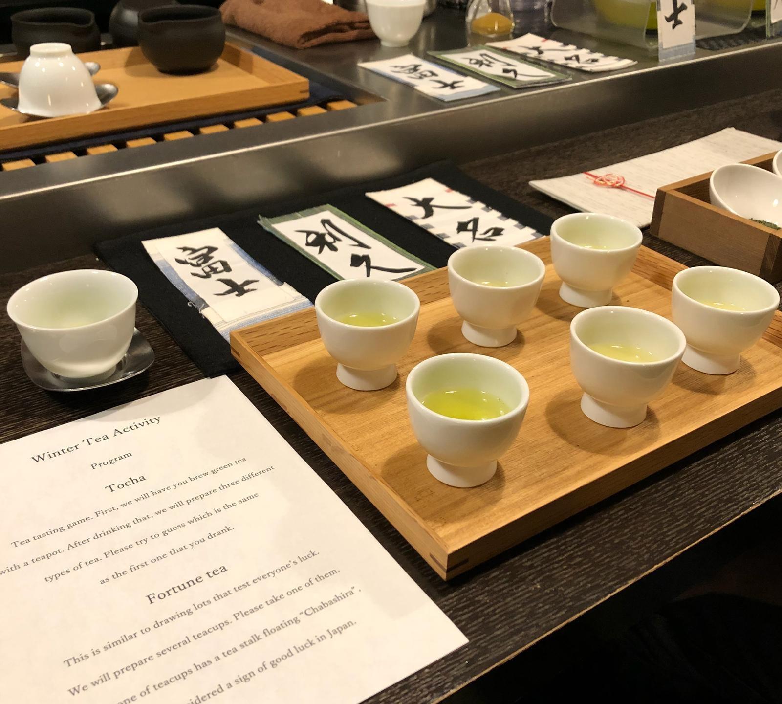 Tea tasting class