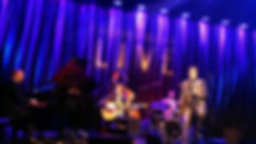 Five piece swing band playing at The Hip