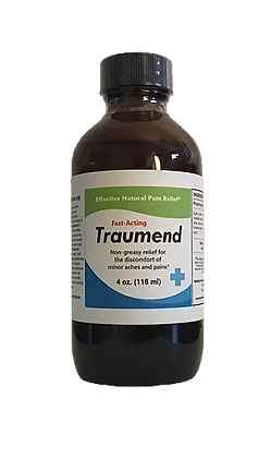 TRAUMEND provides fast relief from minor aches & pains*