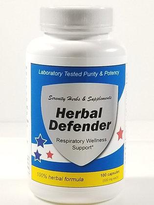 HERBAL DEFENDER maintain respiratory wellness*
