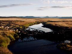 Viejo puente sobre el Ewan