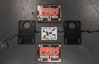 Shorty's Dooks Riser Pads