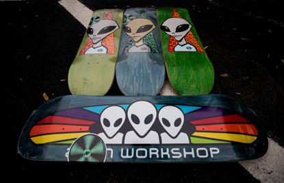 Alien Workshop Decks