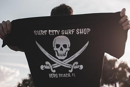 Calico Bru Surf City Shop Shirt