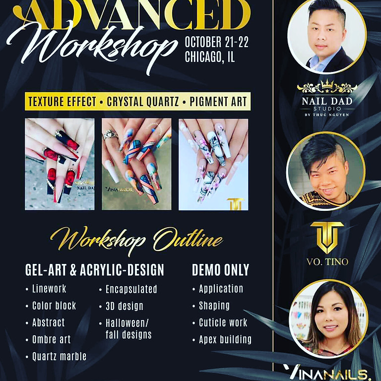 Advanced Nails Workshop 2 Days