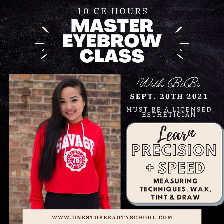 Master Eyebrow Class