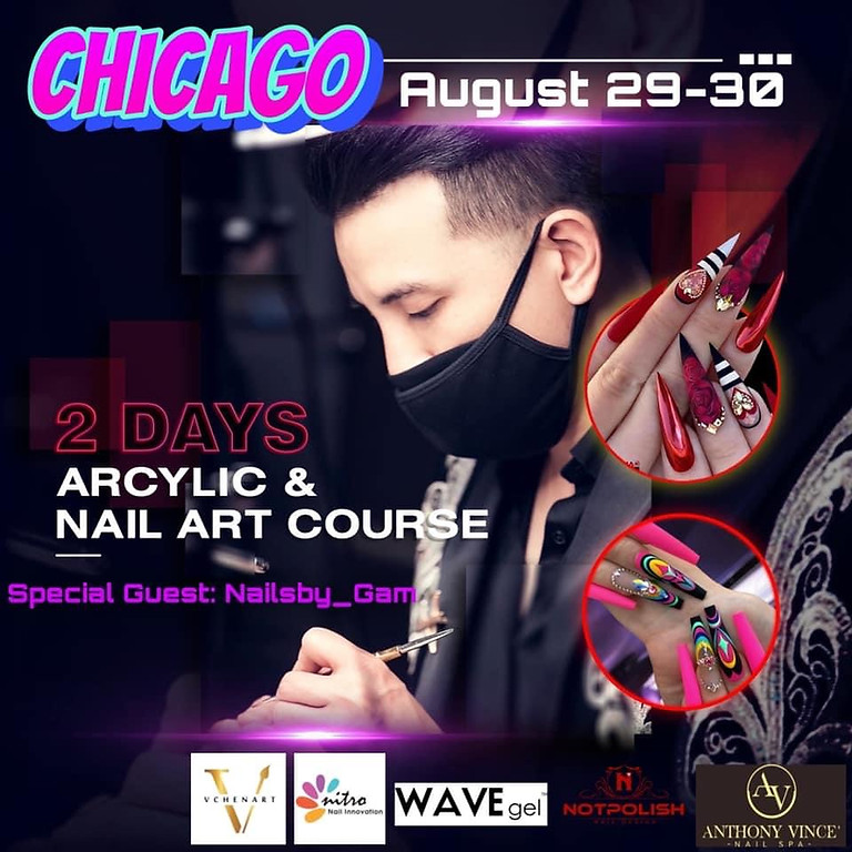 Nail Art Class with Vin Chen