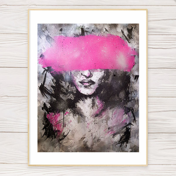 """""""Pink"""" Limited Edition Print"""
