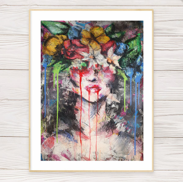 """""""Flower Girl"""" Limited Edition Print"""