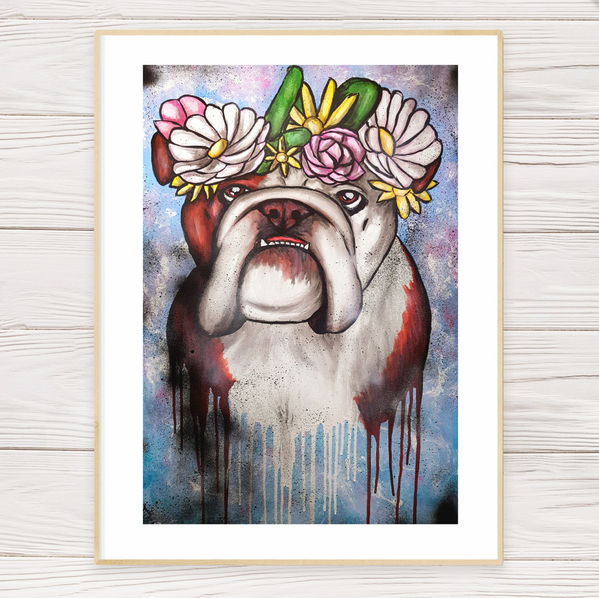 """Snapchat Dog"" Limited Edition Print"
