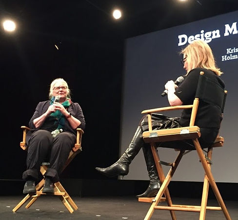 Design Matters Live: Kris Holmes