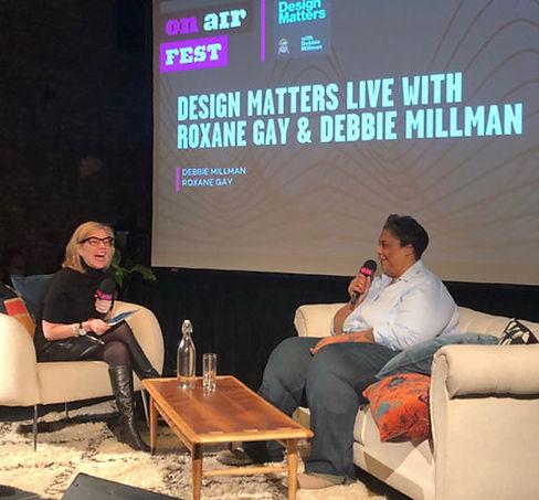 Design Matters Live: Roxane Gay