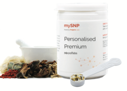 DNA-Optimised Personal Supplements