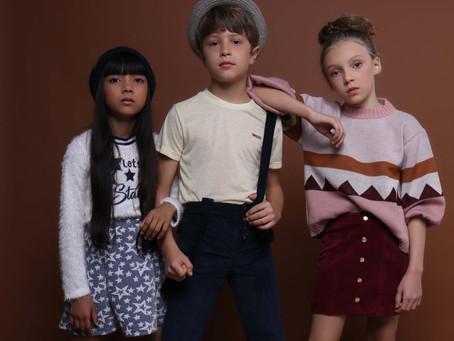 Moda infantil: Roupas leves ditam o inverno 2019