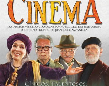 "Novo filme de Juan José Campanella,  ""A Grande Dama do Cinema"""