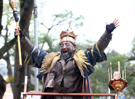 Pombas Urbanas apresenta Era uma Vez um Rei em PERUS!