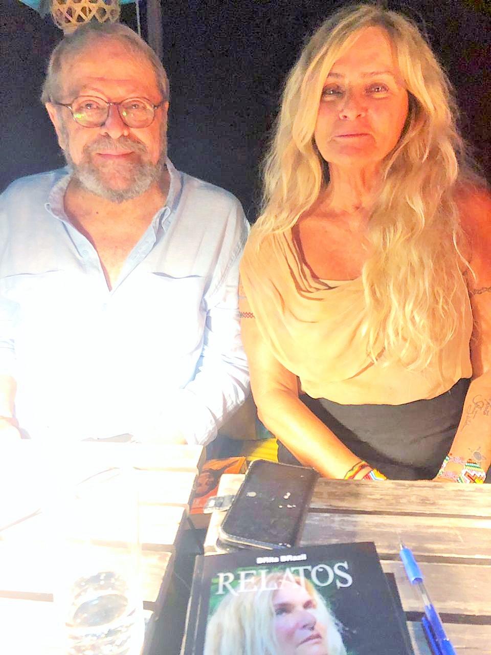 BRita BRazil e Carlos Vereza