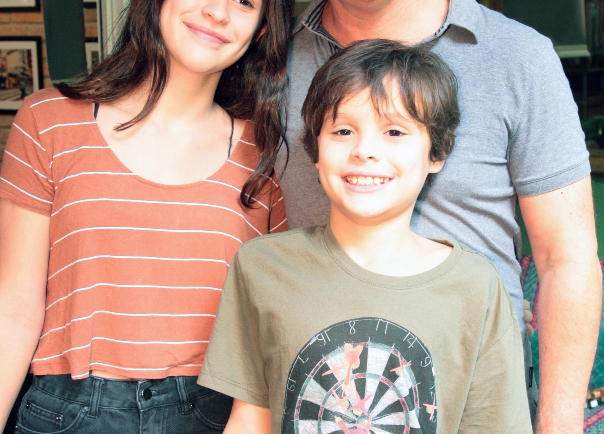 Guilherme Fontes e (filhos)Carolina e Carlos