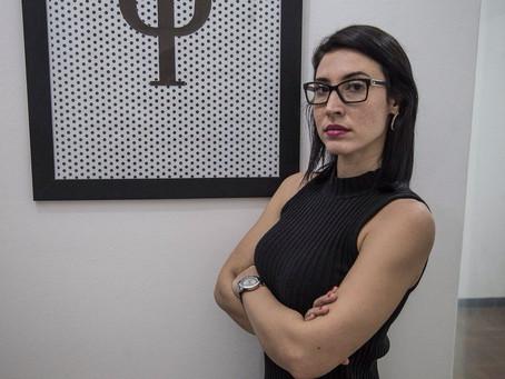 Sarah Rosado faz sucesso motivando mulheres e empresários.