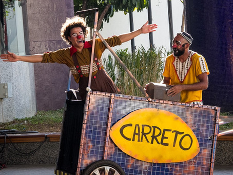 Trupe DuNavô apresenta Irmãos Carreto no SESC Itaquera