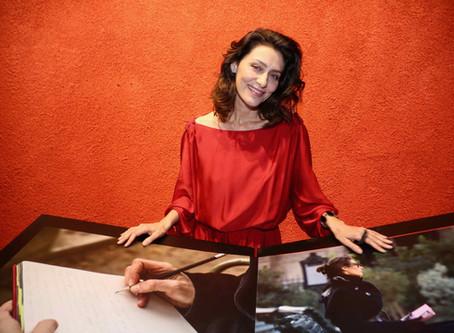 Maria Fernanda Cândido é estrela de exposição fotográfica na Unibes Cultural