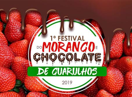 Crianças ganham espaço no 1º festival de morango e chocolate