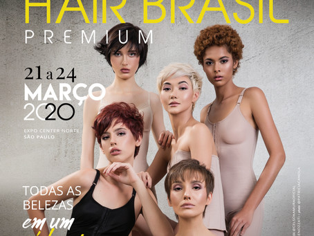 Celso Kamura assina campanha da Hair Brasil 2020