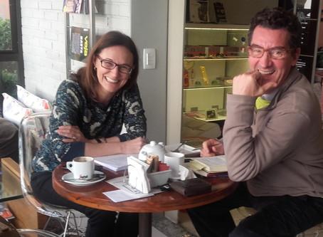 Flavio de Souza lança em livro peça Fascinação e assina a autoria com Luci Collin
