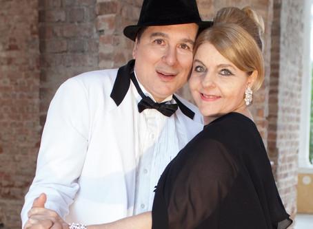 """O tenor Wladimir Cabanas e a soprano Tania Apelbaum Novak apresentam o show """"UMA NOITE EM LAS VEGAS:"""