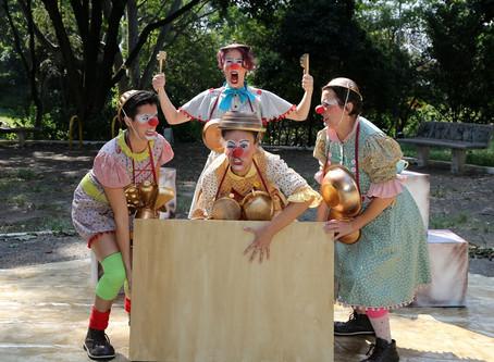 Circo di SóLadies apresenta CHOQUE-ROSA no SESC Parque Dom Pedro II