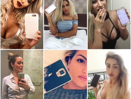 'De pedido de nudes a casamento' veja as cantadas que musas recebem nas redes sociais e como lidam c