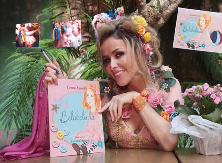 """Leona Cavalli, Teresa de Órfãos da Terra, lançou livro infantil """"Belabelinha"""""""