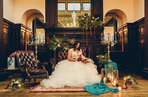 Wortley Hall Styled Shoot.