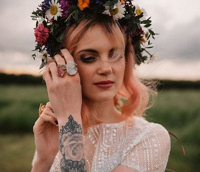 Boho Festival Bride shoot