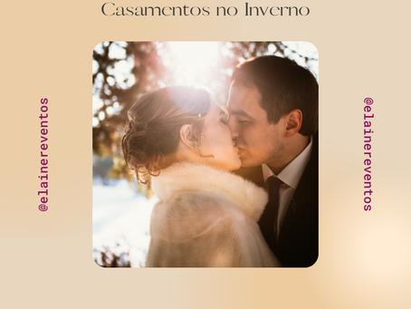 As belezas e delícias de um casamento no inverno