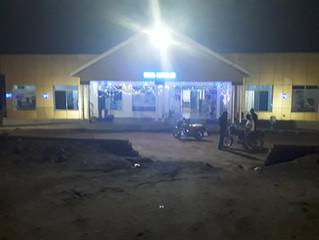 Herona hospital at night