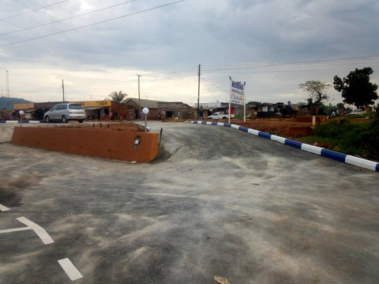 June 2018 - New tarmac entrance