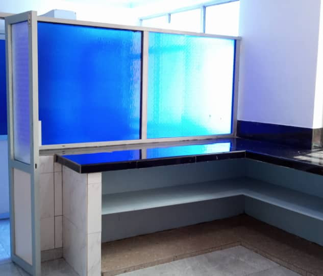 Sterilising and scrub rooms