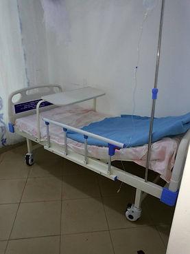 First proper hospital bed