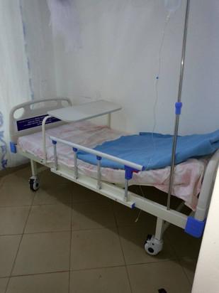 Feb 2018 - First proper hospital bed