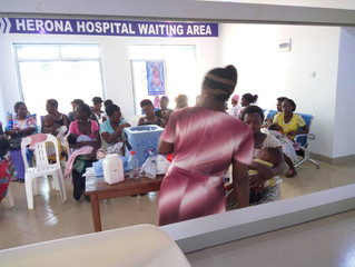 Free immunisation for babies tomorrow at Herona Hospital