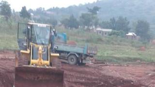 Diggers start work