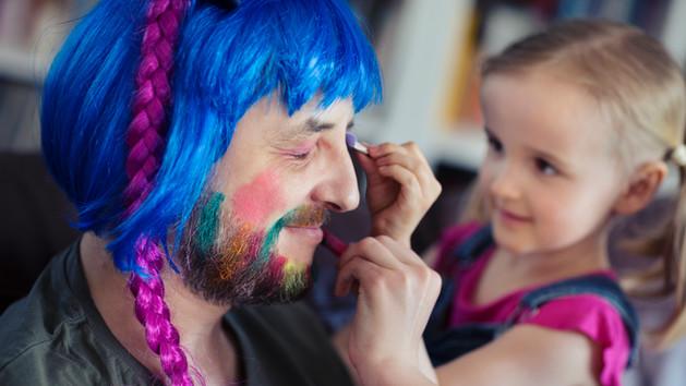 Apának lenni nem mindig könnyű - fotósorozat