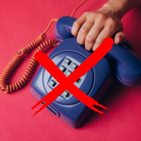 Quando ti arrabbi, non chiamare gli amici!