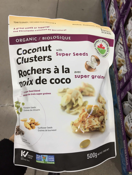Its Organic Week And My First Stop Was The Snack Aisle To Grab These Coconut Clusters Which Michelle Mentioned In A Past Faves Post They Are Soooo Good