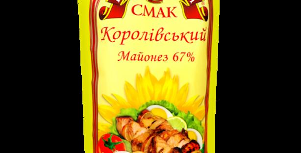 Майонез Королівський Смак 67%, 300г / 16 шт