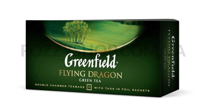 Чай Грінфілд Дракон зелений 25пак